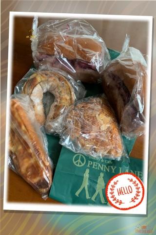 ペニーレインのパンたち