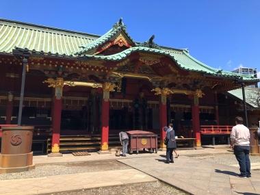 2019-04-03 月詣り鎮守様根津神社
