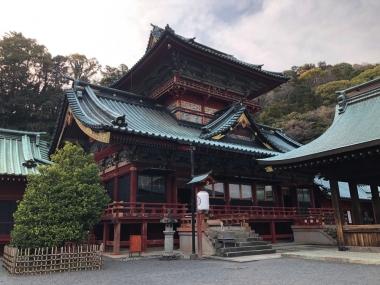 2019-0327息子の産土様静岡浅間神社)