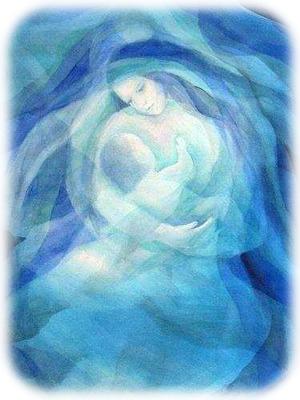 ブルー聖母子