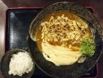 焼チーズカレー釜玉、ちょこっとごはん@情熱うどん讃州新大阪店