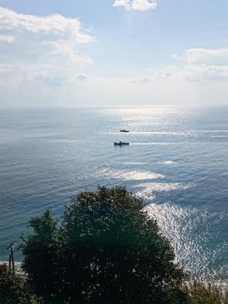 バッチ網漁船