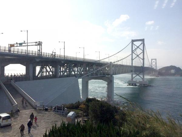 大鳴門橋へ
