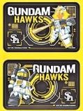 hawks×ガンダム ICステッカー