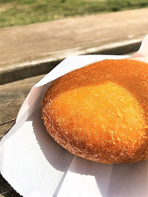 日和山公園 ひょっこり島 売店 さくさくカレーパン