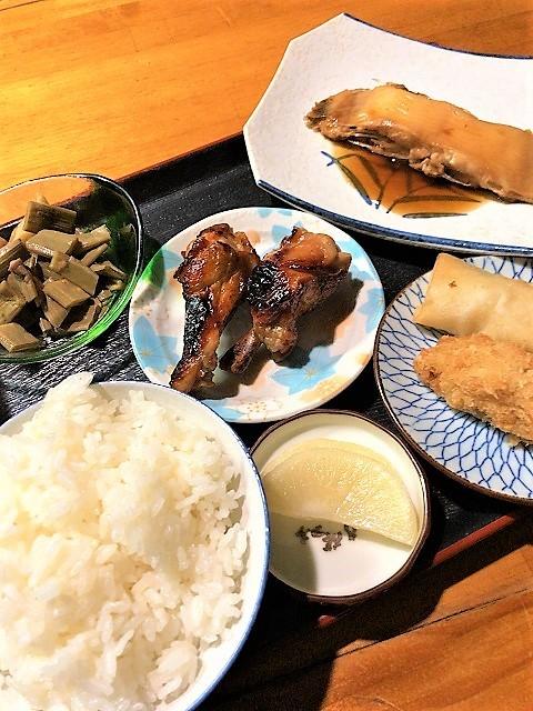 天ぷら しず カレイの煮付け