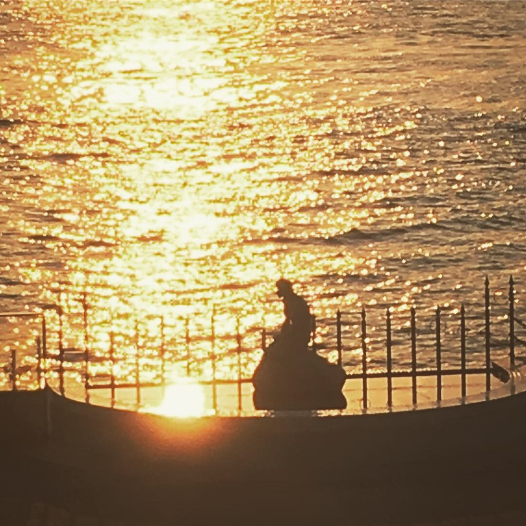 マーメイド夕陽