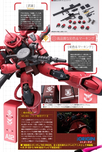 GUNDAM FIX FIGURATION METAL COMPOSITE、 MS-06S シャア専用ザクII (1)