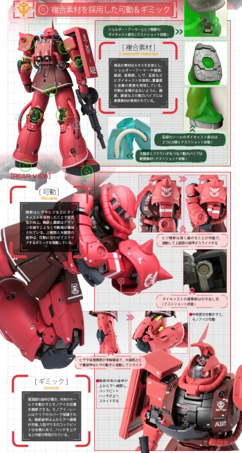 GUNDAM FIX FIGURATION METAL COMPOSITE、 MS-06S シャア専用ザクII (3)