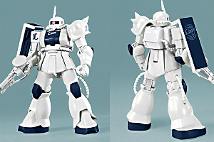 HG MS-06S ザクII(ライオンズバージョン) (2)t