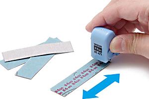 紙やすり番手スタンプ ローラータイプt
