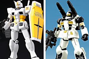 HG RX-78-2 ガンダム [ホークスバージョン]、HG RX-77-2 ガンキャノン[甲斐拓也モデル]t