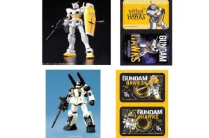HG RX-78-2 ガンダム [ホークスバージョン]、HG RX-77-2 ガンキャノン[甲斐拓也モデル]t (2)
