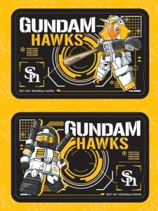 HG RX-78-2 ガンダム [ホークスバージョン]、HG RX-77-2 ガンキャノン[甲斐拓也モデル] (1)
