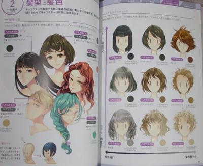 キャラクターの色の塗り方 (4)