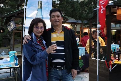 上海からのお客様