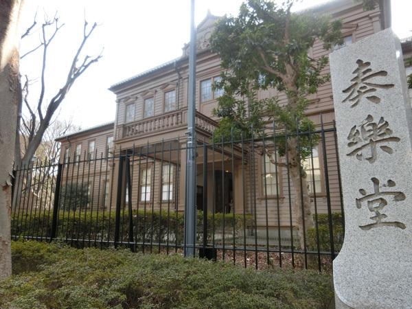 日本最古の洋式音楽館「旧東京音楽学校奏楽堂」(上野公園)