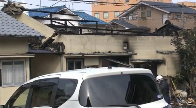 府中町浜田 住宅火災