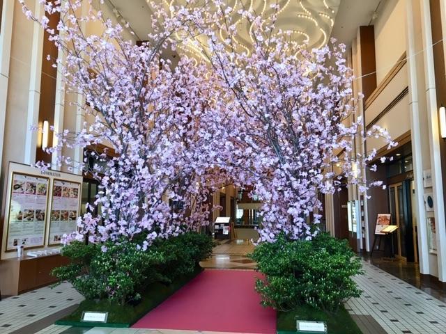 ロイヤルパインズホテル桜のアーチ