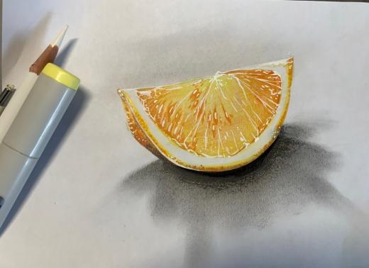アナログオレンジ