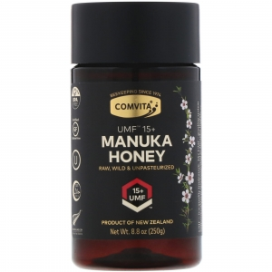 Comvita, マヌカハニー、UMF 15+、8.8 oz (250 g)