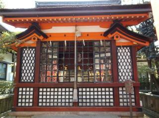 八坂神社蛭子社社殿