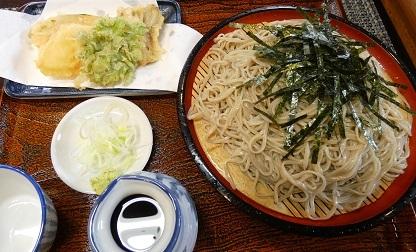 2 そば処 みよし ざるそば 野菜天ぷら