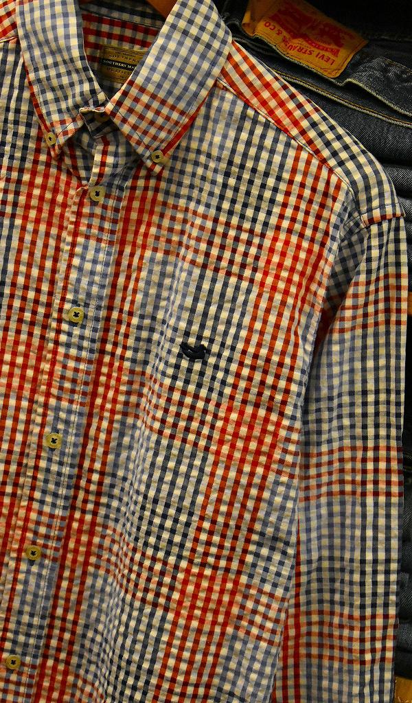 USED長袖ワンポイントシャツ画像@古着屋カチカチ8