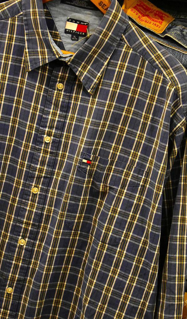 USED長袖ワンポイントシャツ画像@古着屋カチカチ10