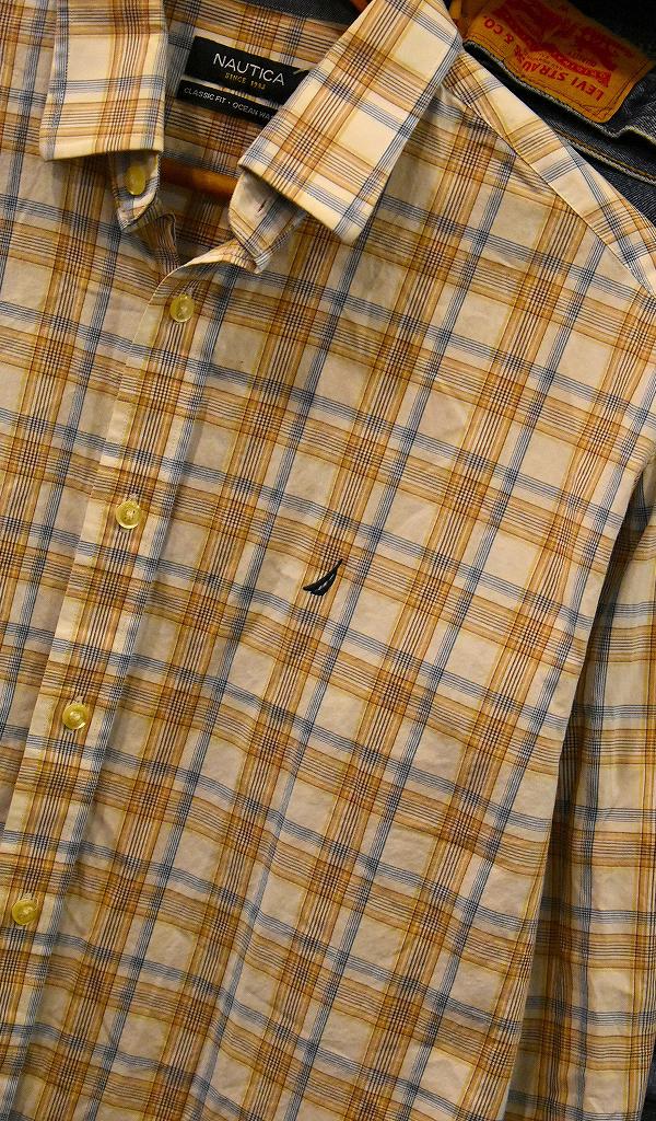 USED長袖ワンポイントシャツ画像@古着屋カチカチ4