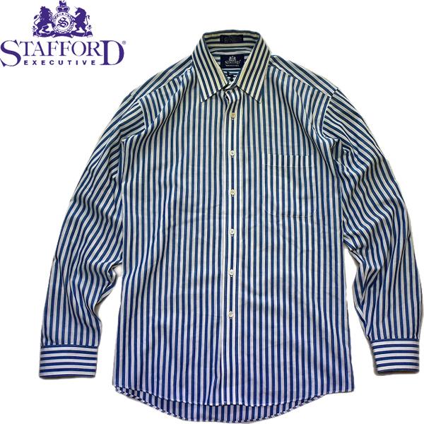 春物ストライプシャツ画像@古着屋カチカチ