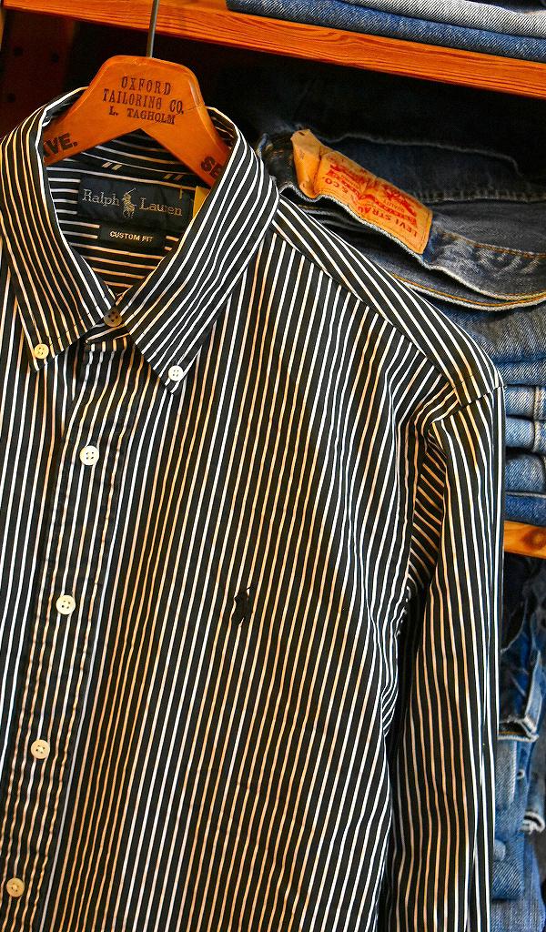 春物ストライプシャツ画像@古着屋カチカチ9