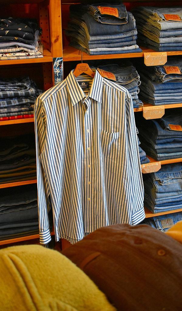 春物ストライプシャツ画像@古着屋カチカチ12