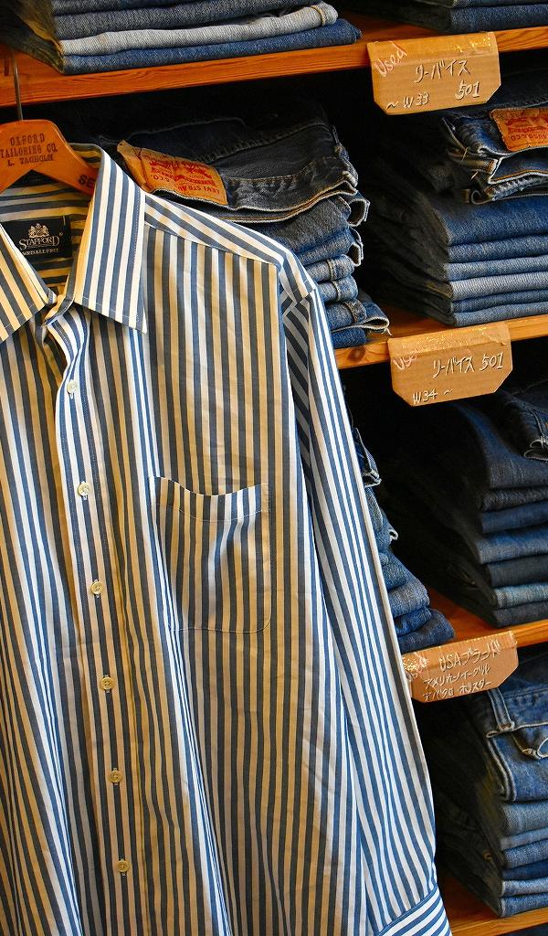 春物ストライプシャツ画像@古着屋カチカチ13