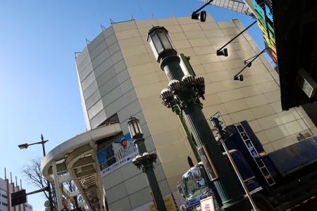 浜松市市街地 外灯