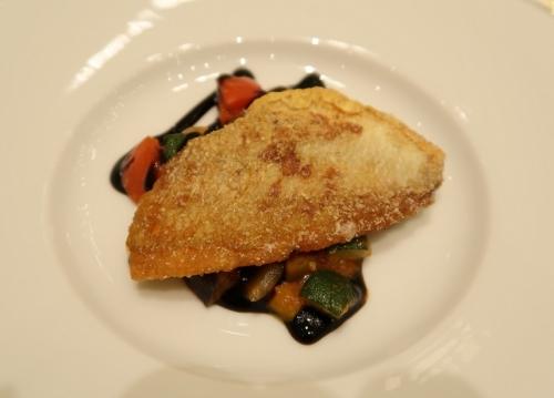 黄鯛のポワレ バルサミコソース