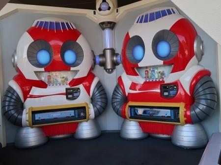 東京ディズニーランド ドリンク販売機