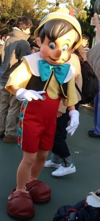 東京ディズニーランド ピノキオ