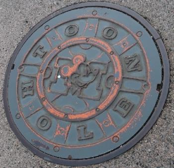 東京ディズニーランド トゥーンタウン マンホール?