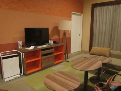 ホテルの大部屋
