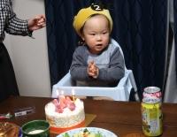 2歳のお誕生会