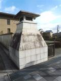 JR嵯峨嵐山駅 巨大灯篭