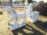 JR柳井駅 夢を運ぶ白馬と少年