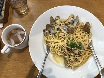 3142019 Lunch Spaghetti vongole S1