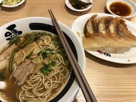3172019 Dinner ばりうま拉麺&餃子 S3