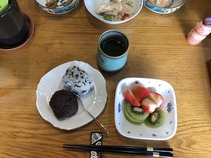 3212019 Lunch おはぎ S