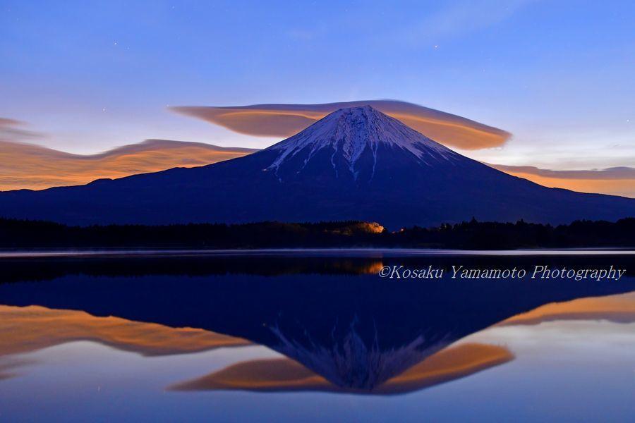 妖雲現る (田貫湖)