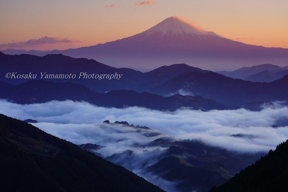 雲上駿河富士 (静岡県 清水)
