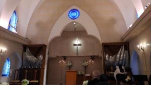従弟結婚式~教会~