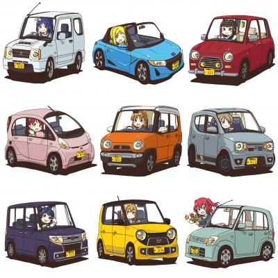 【ラブライブ!】ラブライブが車アニメだった時にありがちなこと